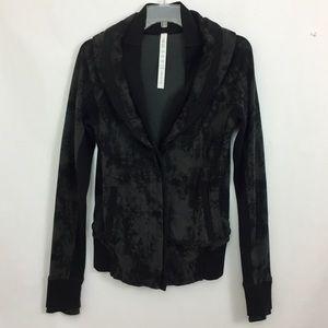 Lululemon To Class Jacket Charcoal size 6